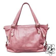 Special design soft leather women big handbag