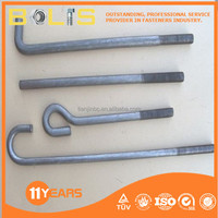 4.8 grade chemical anchor bolts sizes standard