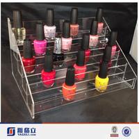 clear opi acrylic display rack/ nail vanish display holder