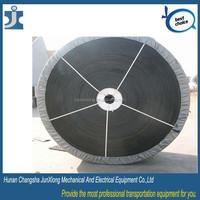 High quality China manufacturers black rubber belt v conveyor belt