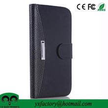 new china products credit card wallet flip leather case for Samsung Galaxy S6 Edge