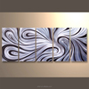 wholesale group handmade home decoration aluminum metal wall art
