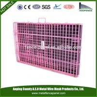 alibaba china hot sale Collapsible Double Dog Cage Many Sizes For Sale / dog box used kennel( Factory & ISO9001 )