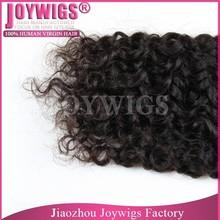 Factory piece wholesale grade 6a natural brazilian hair pieces