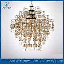 Contemporary hotel project decorative elegant design crysal chandelier for dinning room