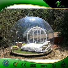 PVC Outdoor Champing Bubble Tent Clear Inflatable Lawn Tent