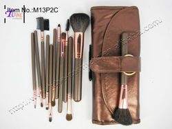 TUBE 13pcs Mini Travel Makeup Brush Set