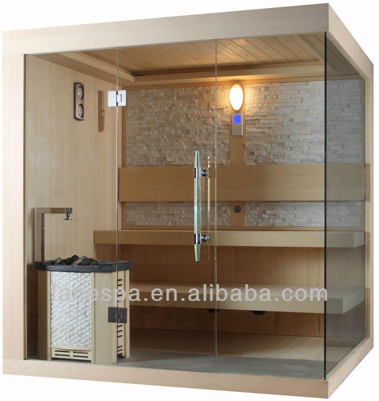 Tradicional sala de sauna finlandesa saunas con harvia - Calentador para sauna ...