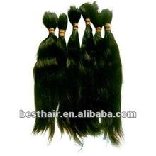 Perfect quality vergin brazilian remy bulk hair for braiding