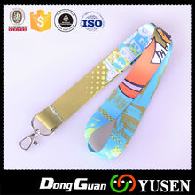 Factory Price Polyester Heated Transfer Picture Lanyard