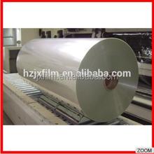 pet film rolls/stretch film jumbo roll/clear plastic roll
