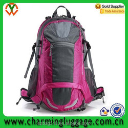 outdoor mountaineering camping hiking backpack 80L sale/waterproof shower sleeping camping bag