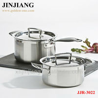 thermometer flat steel Stainless Steel cookware set