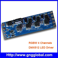 RGBW 4channel dmx512 led dmx driver dimmer