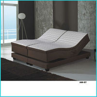 Fabric electric box spring bed AM-07