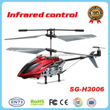 2014 new and hot product 3CH with Gyro IR 3 channel rc toy helicopter metal toys