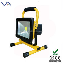 favorable price 10W rechargeable led flood light