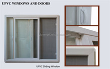 Guangzhou professional plastic frame material upvc sliding window