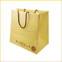 2016 new design OEM foldable recycle paper bag