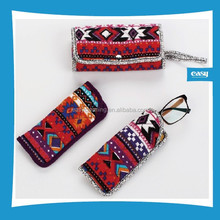 Soft Eaywear Optical Case with Cotton material