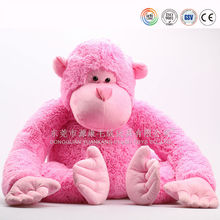 Lovely animal toys names plush monkey with long arms