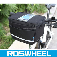 ROSWHEEL 11812 bicycle with touch screen mobile phone handlebar bag