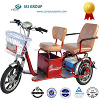 tuk tuk electric cargo tricycle for sale for passagers yongsheng
