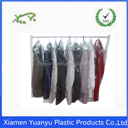 Custom printing thick clear opp/pe garment plastic bag manufacture.
