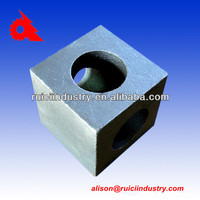Custom stainless steel 304 casting part for tyre recycling machine