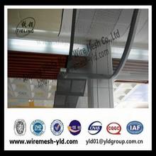 PVC coated aluminium perforated ceiling of wire mesh design (manufacture )