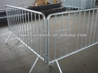 Temporary galvanized welded mesh fence panel