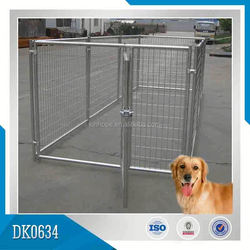 Made In China Galvanized Chain Link Dog Kennel Of Large