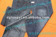 2012 Long Yi newest denim jeans fabric women's jeans fabric
