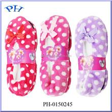Fashion Vivid Color Shining Floor Shoes Terry Socks Women Slippers
