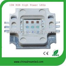 10W RGB High power LED with 6 Pins