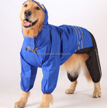 Hot Sale Three-piece Large Dog Clothes Rain Coats Wholesale Dog Clothes Coat Waterproof