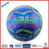 Popular PVC machine stitched cheap soccer ball