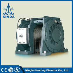 Gearless Traction Motor Elevator Gear Machine