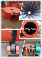Stainless steel rotary drum dryer for fertilizer drying
