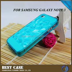2015 Mobile phone case seller diamond tpu phone case for samsung galaxy note 3