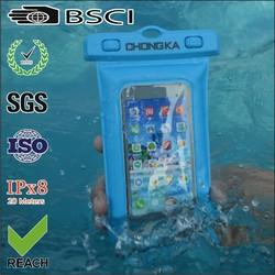 waterproof pvc mobile phone cover/waterproof cell phone cover/pvc waterproof phone bag cover