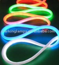 diseño de moda led de suave luz de neón flex de la lámpara