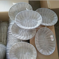 oval woven gift fruit basket decoration wholesale