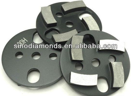 3 inch/75mm kim loại ngoại quan kim cương mài miếng đệm cho máy mài sàn