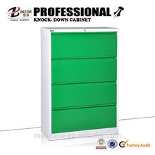 Lateral 4 drawer steel master file storage cabinets