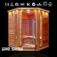 2015 Swedish 4-6 people Carbon Far Infrared Tourmaline Sauna Room (CE/ISO/FSC/TUV)