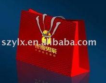 Luxury art paper bags shopping bag customised offset printing printed