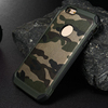 New Arrival !! camoulflage case for iphone 6 silicone +pc back