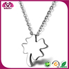 2015 Hot Sale Silver Four Leaf Clover Necklace
