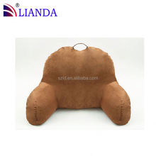 HOTSALE!! reading pillows cushions/ back cushion pillow/ chinese silk cotton reading pillows CE certificate